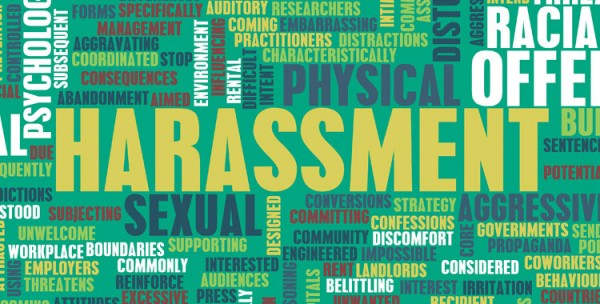 harassment definition at work